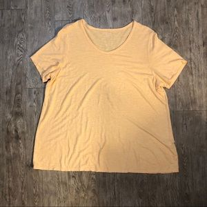 Eileen Fisher Short Sleeve Top Sz 2X